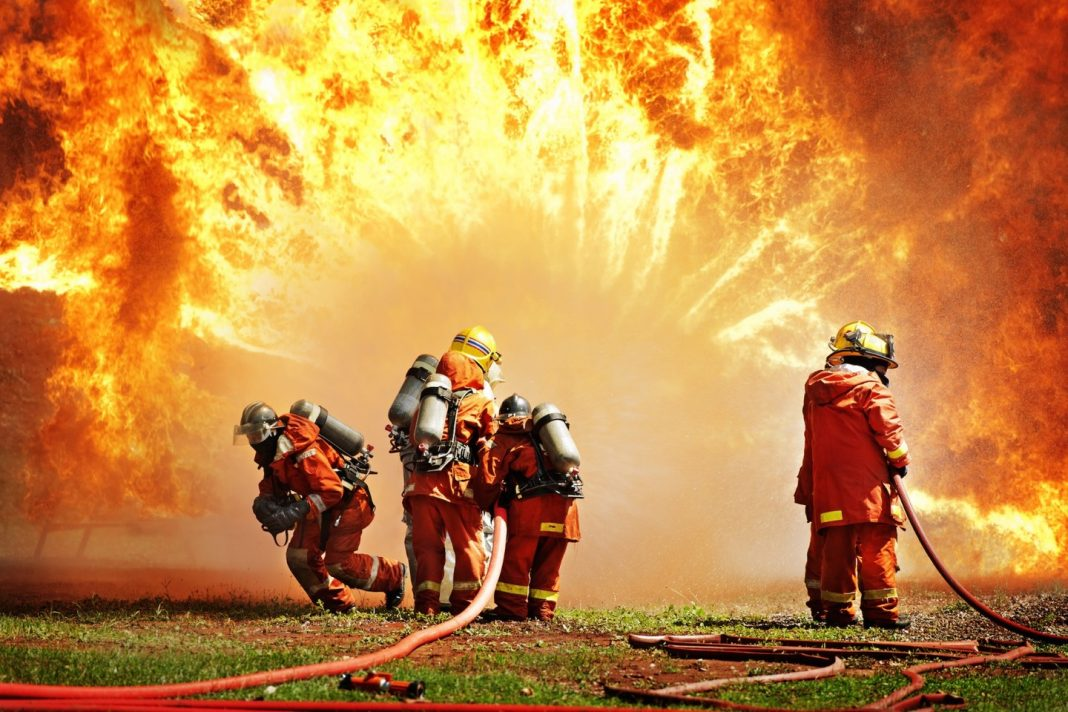 Защите, фон для открытки пожарная охрана