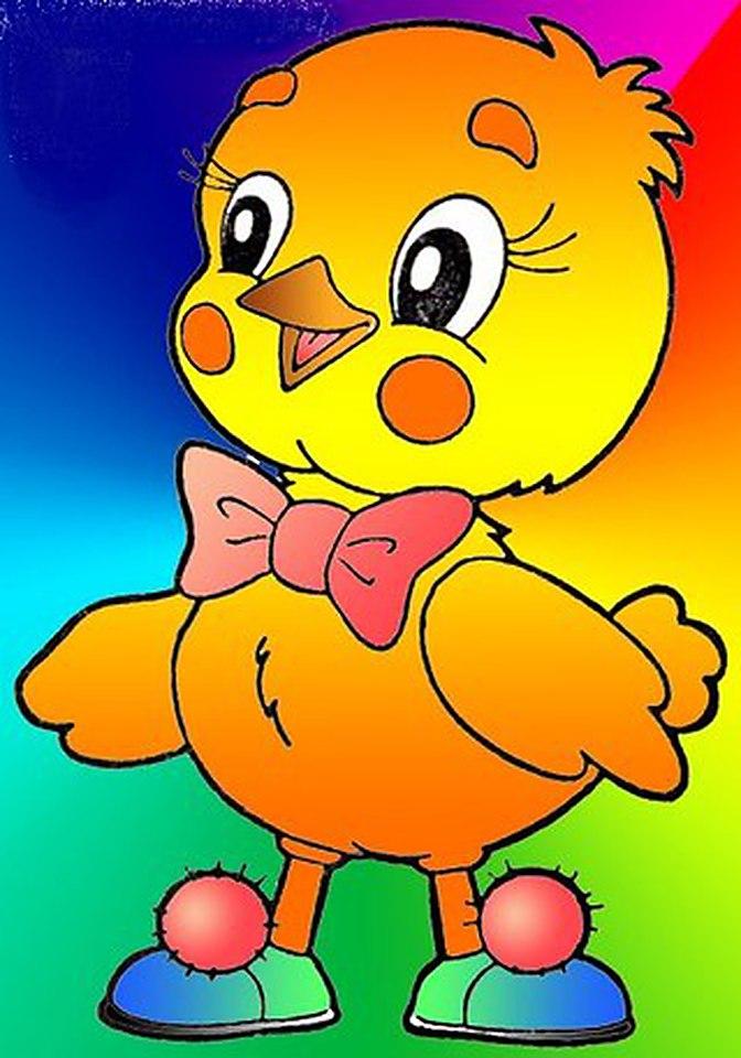золотой цыпленок картинки